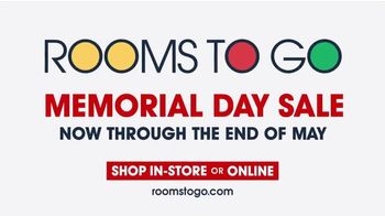Rooms to Go Memorial Day Sale TV Spot, 'Shop with Ease' - Thumbnail 10