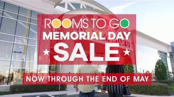 Rooms to Go Memorial Day Sale TV Spot, 'Shop with Ease' - Thumbnail 2