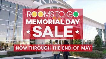 Rooms to Go Memorial Day Sale TV Spot, 'Shop with Ease' - Thumbnail 3