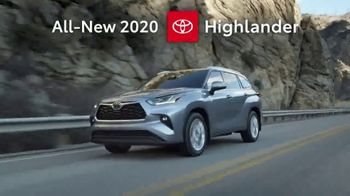 2020 Toyota Highlander TV Spot, 'Aggressively Styled' [T2] - Thumbnail 1
