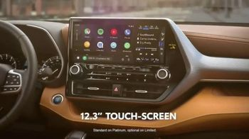 2020 Toyota Highlander TV Spot, 'Aggressively Styled' [T2] - Thumbnail 6