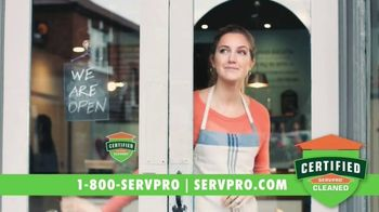SERVPRO TV Spot, 'Getting Back to Business' - Thumbnail 10