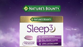 Nature's Bounty Sleep3 TV Spot, 'Unique Supplement' - Thumbnail 10