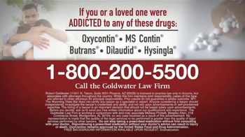 Goldwater Law Firm TV Spot, 'Opioid Addiction: Still Working' - Thumbnail 5
