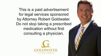 Goldwater Law Firm TV Spot, 'Opioid Addiction: Still Working' - Thumbnail 1
