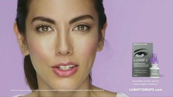 Lumify Eye Drops TV Spot, 'Amazing Looking Eyes' - Thumbnail 7