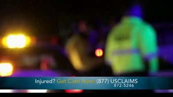 USClaims TV Spot, 'Injured in an Accident' - Thumbnail 1