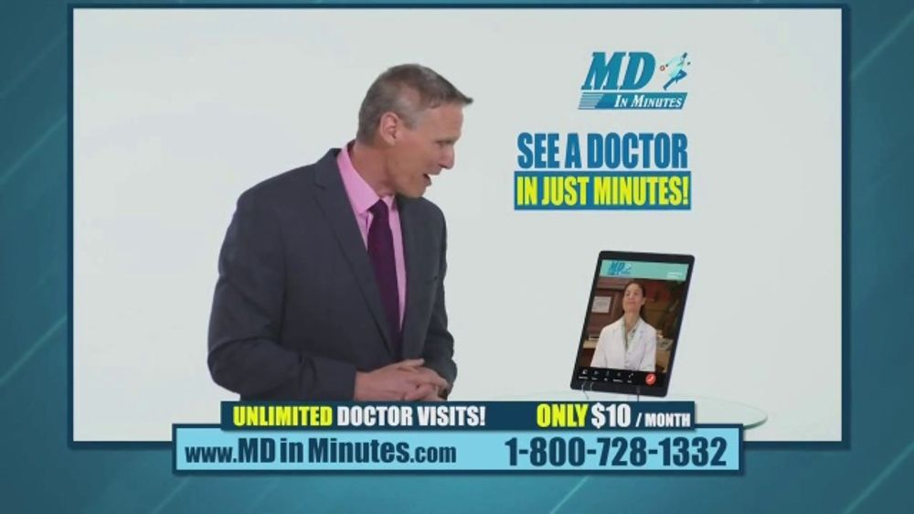 MD in Minutes TV Commercial, 'See a Doctor Anytime'