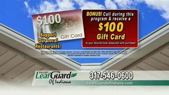 LeafGuard of Indiana TV Spot, 'Single Piece of Aluminum: 65% Off Labor' - Thumbnail 9