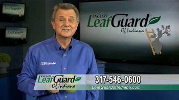LeafGuard of Indiana TV Spot, 'Single Piece of Aluminum: 65% Off Labor' - Thumbnail 6