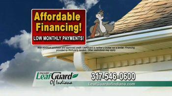 LeafGuard of Indiana TV Spot, 'Single Piece of Aluminum: 65% Off Labor' - Thumbnail 8
