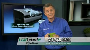 LeafGuard of Indiana TV Spot, 'Eliminate Health Hazards: 65 Percent Off Labor'