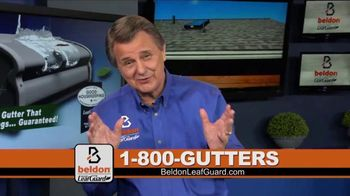 Beldon LeafGuard TV Spot, 'Clogged Gutters: 75 Percent Off Labor'
