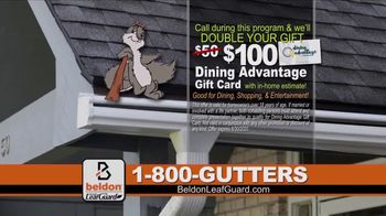 Beldon LeafGuard TV Spot, 'Clogged Gutters: 75 Percent Off Labor' - Thumbnail 6
