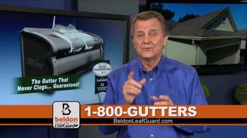 Beldon LeafGuard TV Spot, 'Clogged Gutters: 75 Percent Off Labor' - Thumbnail 7