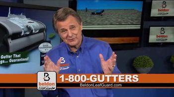 Beldon LeafGuard TV Spot, 'Clogged Gutters: 75% Off Labor'