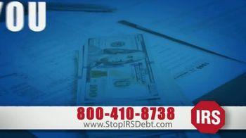 StopIRSDebt.com TV Spot, 'Can't Pay Bills?'