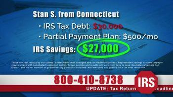 StopIRSDebt.com TV Spot, 'Can't Pay Bills?' - Thumbnail 2