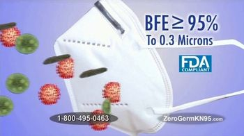 Zero Germ KN95 Face Mask TV Spot, 'Medical Grade Masks' - Thumbnail 3