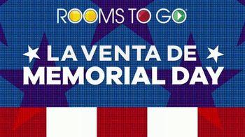 Rooms to Go Venta de Memorial Day TV Spot, 'Juegos de colchones' [Spanish] - Thumbnail 1