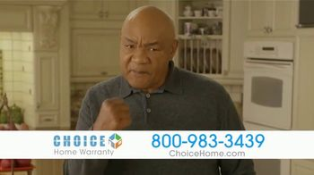 Choice Home Warranty TV Spot, 'Sucker Punched' Featuring George Foreman - Thumbnail 2