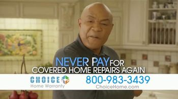 Choice Home Warranty TV Spot, 'Sucker Punched' Featuring George Foreman - Thumbnail 6
