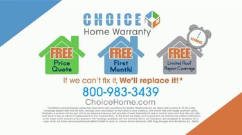 Choice Home Warranty TV Spot, 'Sucker Punched' Featuring George Foreman - Thumbnail 9