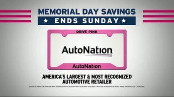 AutoNation Memorial Day Savings TV Spot, 'Savings Extended: Your Favorite Vehicles' - Thumbnail 6