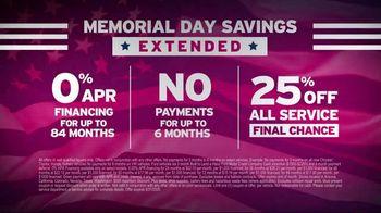 AutoNation Memorial Day Savings TV Spot, 'Savings Extended: Your Favorite Vehicles' - Thumbnail 5