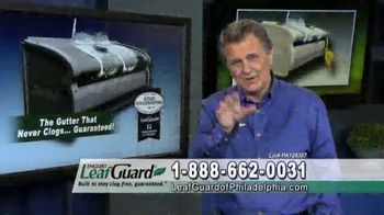 LeafGuard of Philadelphia $99 Install Sale TV Spot, 'Ladder-Related Accidents' - Thumbnail 2