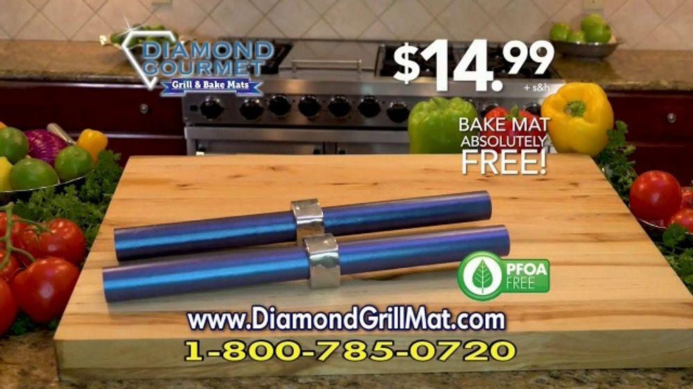 Diamond Gourmet Grill Mat TV Commercial, 'Some Foods Get Stuck: $14.99'