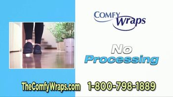 Comfy Wraps TV Spot, 'Pay Attention: BOGO 50 Percent Off' - Thumbnail 10