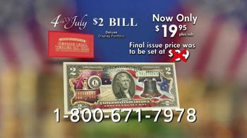 National Collector's Mint 4th of July $2 Bill TV Spot, 'Full Color' - Thumbnail 9