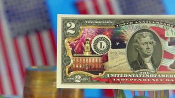 National Collector's Mint 4th of July $2 Bill TV Spot, 'Full Color' - Thumbnail 4