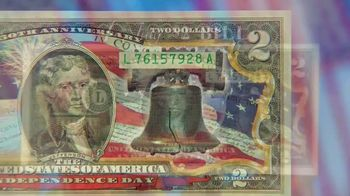 National Collector's Mint 4th of July $2 Bill TV Spot, 'Full Color' - Thumbnail 5