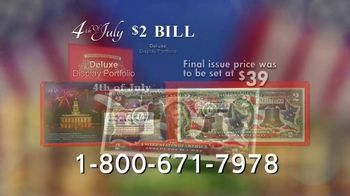 National Collector's Mint 4th of July $2 Bill TV Spot, 'Full Color' - Thumbnail 6
