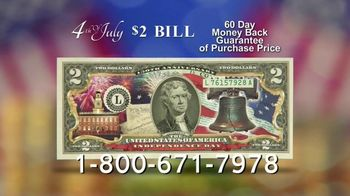 National Collector's Mint 4th of July $2 Bill TV Spot, 'Full Color'