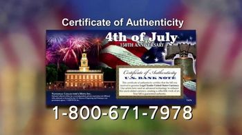 National Collector's Mint 4th of July $2 Bill TV Spot, 'Full Color' - Thumbnail 8