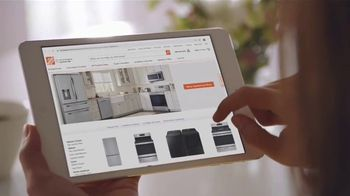 The Home Depot TV Spot, 'Summer Appliance Help: Black Samsung Laundry Pair: $648' - Thumbnail 2
