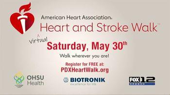 American Heart Association TV Spot, '2020 Virtual Heart and Stroke Walk' - Thumbnail 9