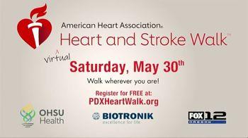 American Heart Association TV Spot, '2020 Virtual Heart and Stroke Walk' - Thumbnail 5