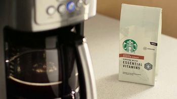 Starbucks Coffee with Essential Vitamins TV Spot, 'Five Essential B Vitamins' - 3934 commercial airings