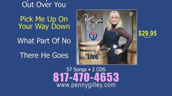 Penny Gilley 57 TV Spot, 'Two-CD Collection' - 98 commercial airings