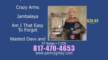 Penny Gilley 57 TV Spot, 'Two-CD Collection' - Thumbnail 6