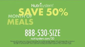 Nutrisystem 50/50 Deal TV Spot, 'People Across America: 50 Percent Off a Month of Meals and Shakes' - Thumbnail 10