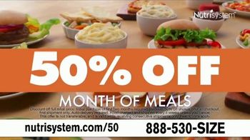 Nutrisystem 50/50 Deal TV Spot, 'People Across America: 50 Percent Off a Month of Meals and Shakes' - Thumbnail 4
