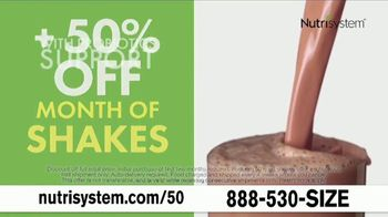 Nutrisystem 50/50 Deal TV Spot, 'People Across America: 50 Percent Off a Month of Meals and Shakes' - Thumbnail 8