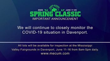 Mecum Gone Farmin' 2020 Spring Classic TV Spot, 'The Spring Classic Will Continue' - Thumbnail 1