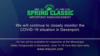 Mecum Gone Farmin' 2020 Spring Classic TV Spot, 'The Spring Classic Will Continue'