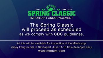 Mecum Gone Farmin' 2020 Spring Classic TV Spot, 'The Spring Classic Will Continue' - Thumbnail 2